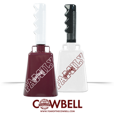 Bulldog Family Cowbell