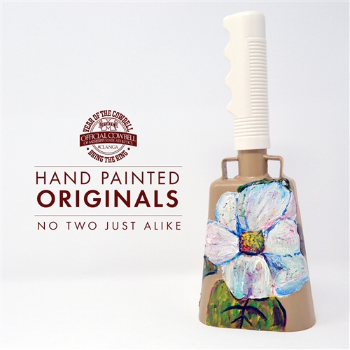 YOTC Hand Painted Cowbell Originals
