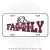 Bulldog Family License Plate