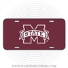 M State License Plate