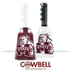 Oversized Bulldog MState Logo Cowbell