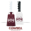 M State Logo Cowbell