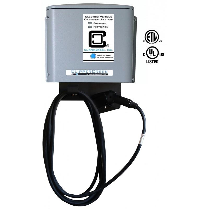 clippercreek cs 40 32 amp 25ft ev charging station. Black Bedroom Furniture Sets. Home Design Ideas