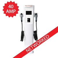 PowerCharge P30DPN Networked Commercial EV Charger