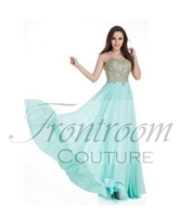 BELA | A-Line Lace Applique Chiffon Sweetheart