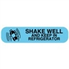 SHAKE WELL AND KEEP REFRIGERATED