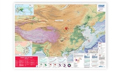Energy Map of China, 2008