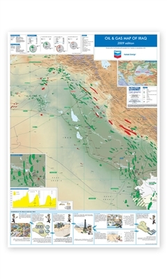 Oil & Gas Map of Iraq, 2009