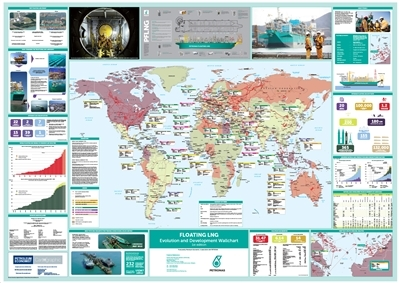 Floating LNG Evolution and Development Wallchart, 1st edition