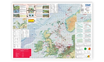 Energy Map of Northern Europe, 2009