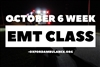 October Accelerated 6 Week EMT Basic Class