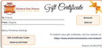 Gift CertificateItalian wine shop