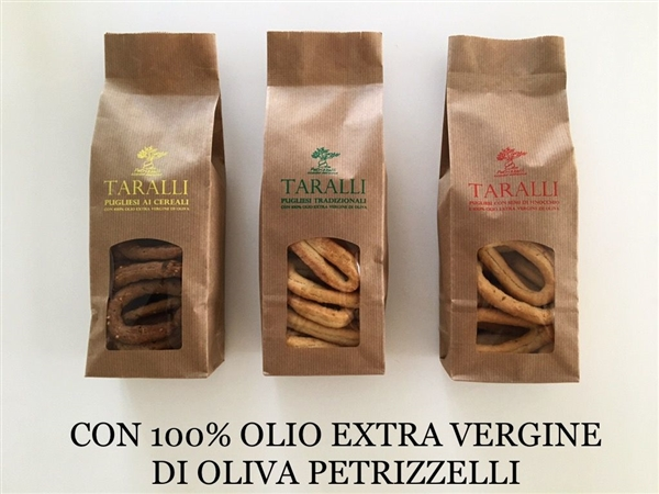 Taralli Petrizzelli Pugliesi with  Olive oil and fennel seed