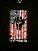 Made in USA Tuff Writer Flag T-shirt