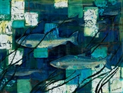 Salmon in Seagrass