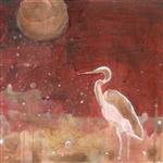 Heron in Moonlight