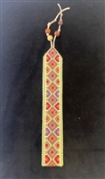 Embroidered Bookmark from Gaza