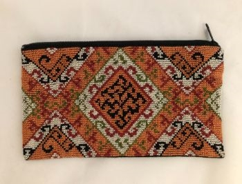 Embroidered Cosmetic Bag from Gaza