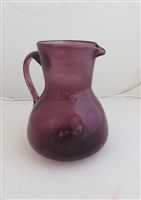 Palestinian Glass Pitcher