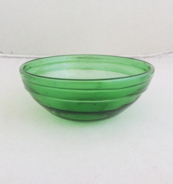 "Palestinian Glass ""Dipping"" Bowl"