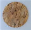 Round Olive Wood Cutting Board