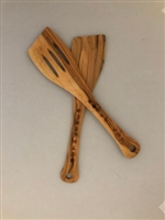 Olive Wood Spatula Set
