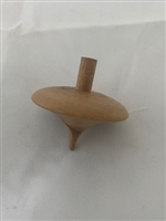 Olive Wood Toy Top
