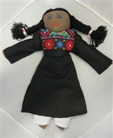 Palestinian Dolls in Embroidered Dresses