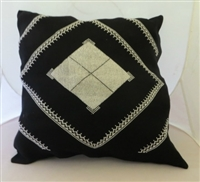 Embroidered Pillow Cover from Gaza