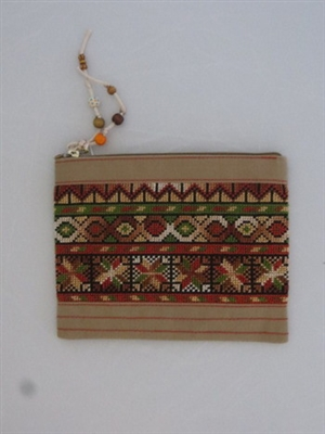 Embroidered Clutch Purse from Gaza