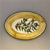 Ceramic Oval Serving Plate 10.5 Inches
