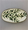 Ceramic Oval Serving Plate 8 Inches
