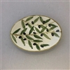 Ceramic Oval Serving Plate 5.5 Inches
