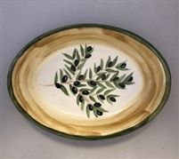 Ceramic Oval Serving Plate 12 Inches