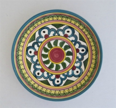 Ceramic Bowl from Gaza (7 inches)