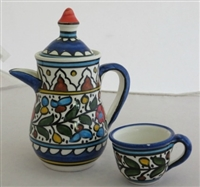 Palestinian Coffee Serving Set