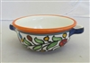 Ceramic Bowl with Handles 6 inches