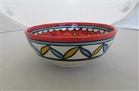 Palestinian Ceramic Bowl 6 inches