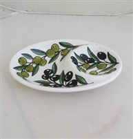 Ceramic Olive Serving Bowl