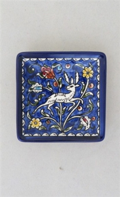 Palestinian Ceramic Small Serving Dish