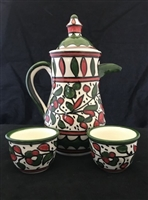 Ceramic Coffee Serving Set