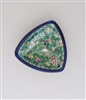 Palestinian Ceramic Small Triangle Dish