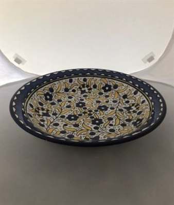 Ceramic Shallow Serving Bowl (13 inches)
