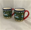 Ceramic Cups (Set of Two)