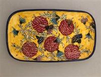 Ceramic Rectangular Serving Plate (12.5 inches)