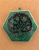 "Ceramic ""Tree of Life"" Tile"