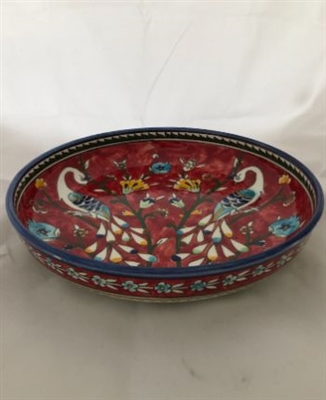 Ceramic Shallow Serving Bowl (11 inches)
