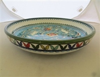 Palestinian Shallow Serving Bowl (11 inches)