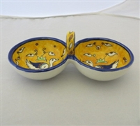 Ceramic Split Serving Bowl