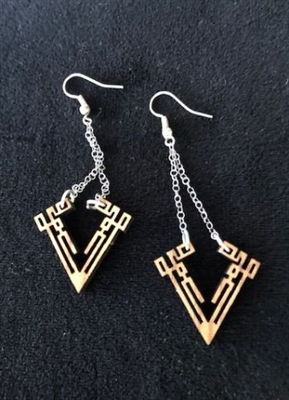 Olivewood Earrings